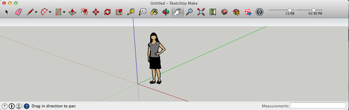 Barre d 39 outil sketchup visualizer vf for Outil miroir sketchup